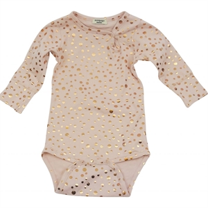 MiniPop Body L/S Rose Dot